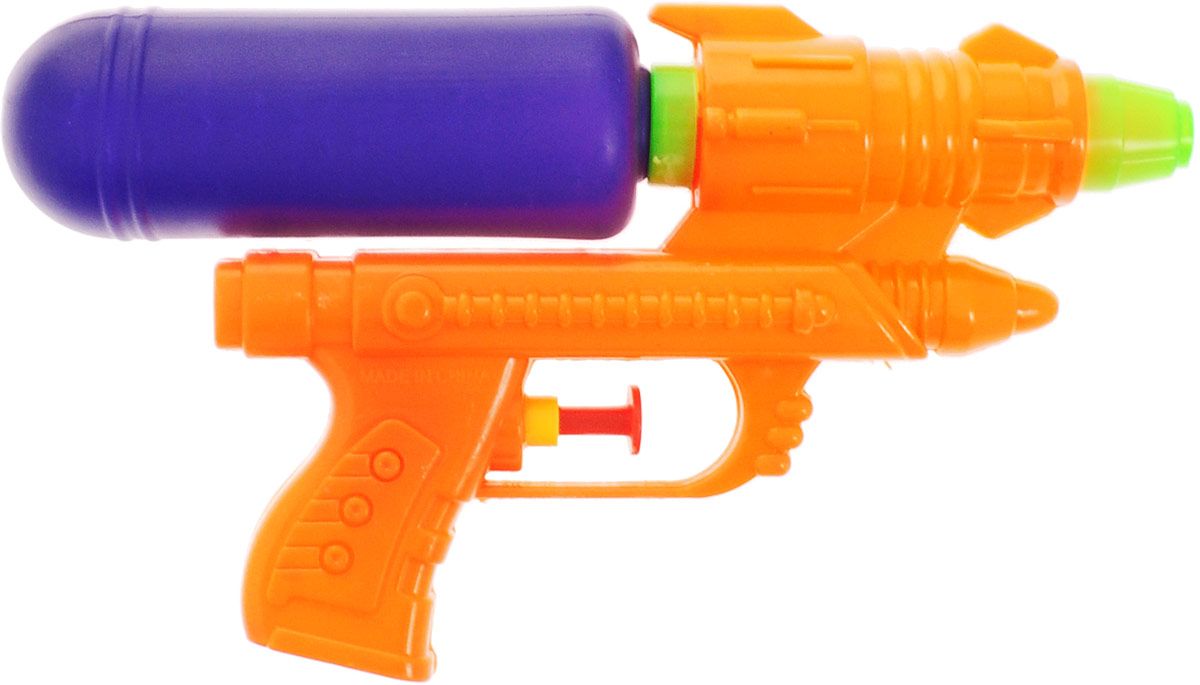 TopToysВодный пистолет цвет темно-синий оранжевый Toptoys