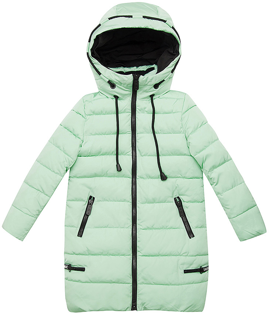 Куртка для девочки Vitacci, цвет: зеленый. 2171454-06. Размер 1602171454-06Удлиненная куртка для девочки Vitacci, изготовленная из полиэстера, станет стильнымдополнением к детскому гардеробу.Подкладка выполнена из полиэстера и дополнительно утеплена флисом по спинке. В качестве утеплителя используется биопух.Модель с капюшоном и длинными рукавами застегивается на пластиковую застежку-молнию. Съемный капюшон регулируется в объеме при помощи шнурка.Температурный режим от -5 до -25 градусов.Красивый цвет, модный силуэтобеспечивают куртке прекрасный внешний вид! Теплая, удобная и практичная куртка идеально подойдет юной моднице для прогулок!