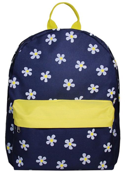 "Рюкзак женский Antan ""Ромашки"", цвет: синий. 6007"