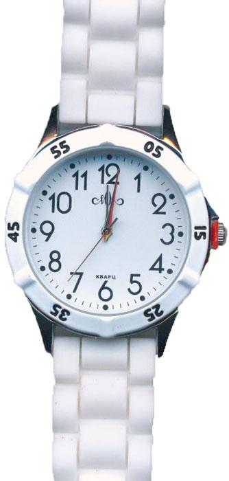 Часы наручные женские Mikhail Moskvin, цвет: белый, золотистый. 612-1-2