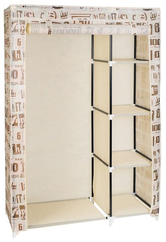 "Мобильный шкаф для одежды Art Moon ""Manitoba"", цвет: мокко, 105 х 45 х 160 см, Art Moon / Artmoon"