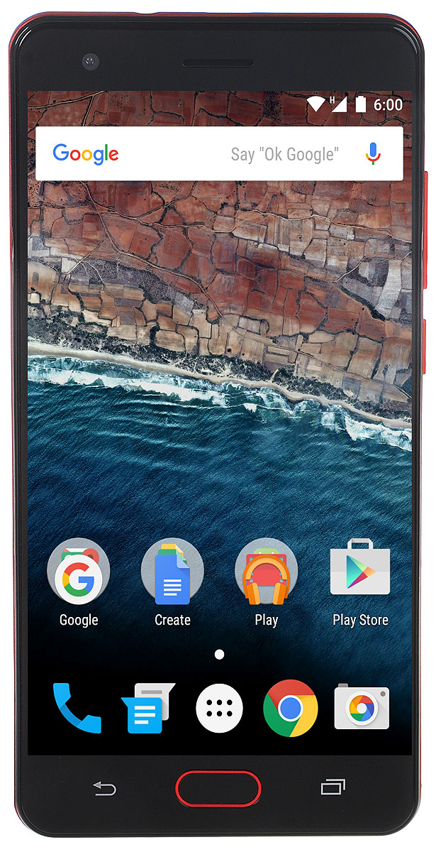 Vertex Impress Dune 4G, Red