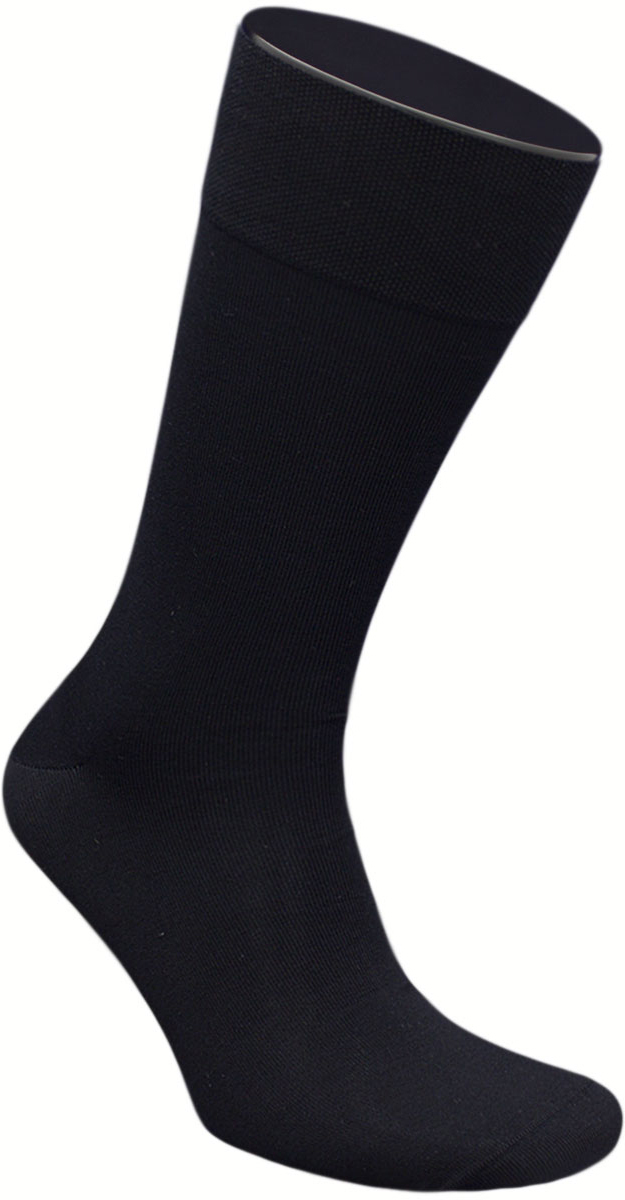 Носки мужские Гранд, цвет: черный, 2 пары. ZCmr149. Размер 27ZCmr149Элитные мужские носки из мерсеризованного хлопка: - бесшовная технология (кеттельный, плоский шов); - хорошо держат форму; - обладают повышенной воздухопроницаемостью; - не линяют после многочисленных стирок; - имеют оптимальную высоту паголенка; - мягкая анатомическая резинка; - усилены пятка и мысок. Носки произведены по европейским стандартам на современных итальянских вязальных автоматах «BUSI GIOVANNI».В комплект входят две пары носок.