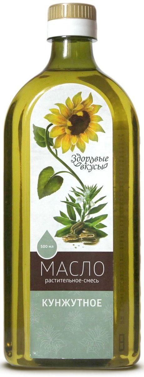 Фото Здоровые вкусы масло растительное смесь кунжутное, 500 мл