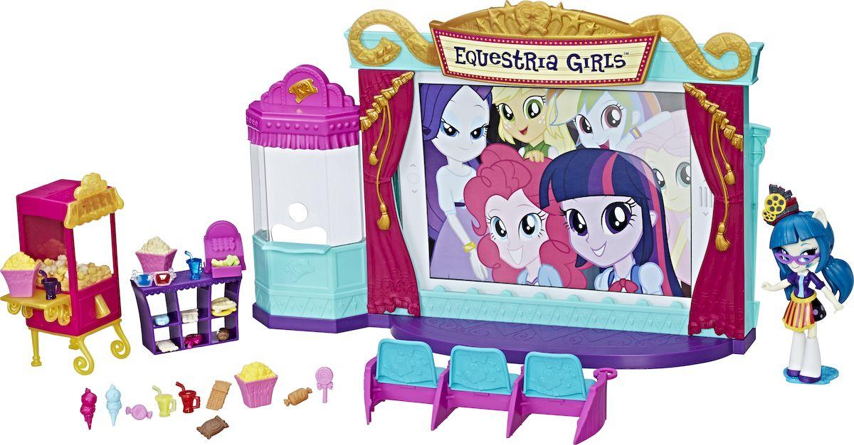 My Little Pony Equestria Girls Игровой набор с мини-куклой Кинотеатр куклы hasbro эг мини игровой набор мини кукол в аст