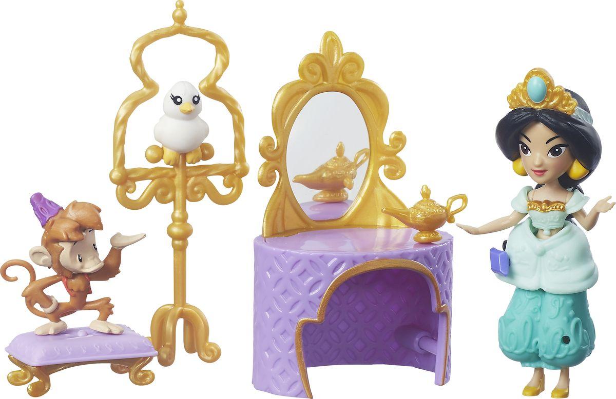 Disney Princess Игровой набор с мини-куклой Туалетный столик Жасмин disney princess игровой набор мерида и пони