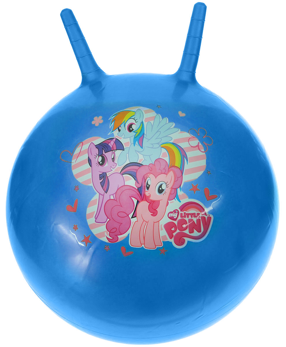Играем вместе Мяч-прыгунок My Little Pony с рожками цвет синий 45 см blutooth big casque audio cordless wireless headphone headset auriculares bluetooth earphone for computer head phone pc with mic
