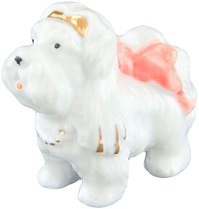 Фигурка декоративная Elan Gallery Роня, 5,5 x 3 x 5 см. 330467330467Фарфоровая статуэтка в классическом стиле украсит ваш дом, а также станет идеальным подарком в наступающем 2018 году, символом которого является по восточному (китайскому) календарю - Желтая Земляная Собака, которая весь год будет на страже вашего благополучия.