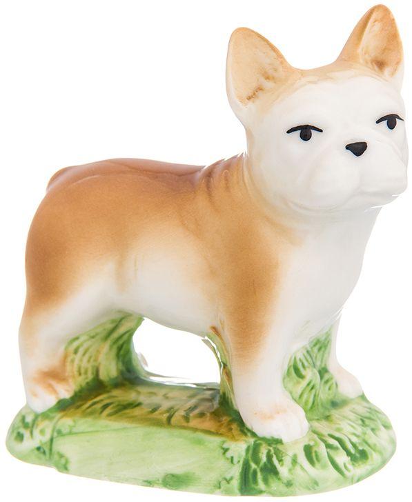 Фигурка декоративная Elan Gallery Французский бульдог, высота 8,5 см фигурки elan gallery фигурка декоративная кот почтальон