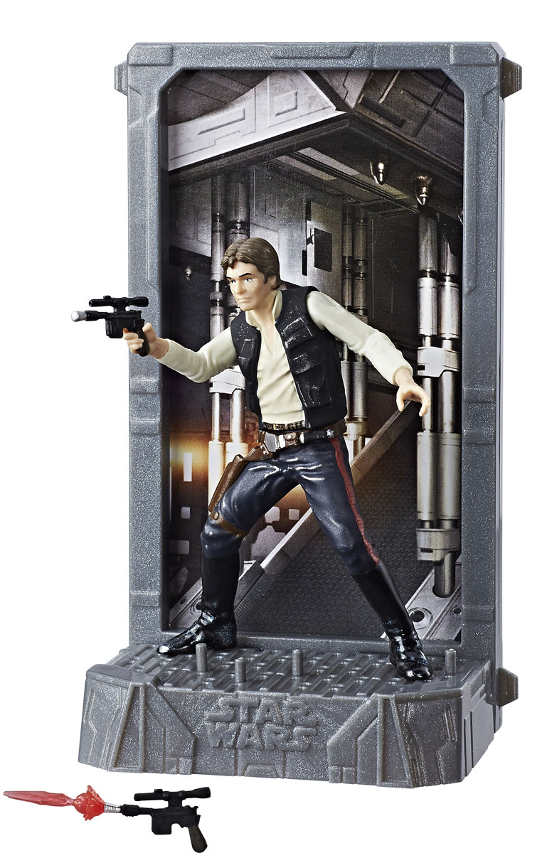 Star Wars Фигурка Black Series Han Solo star wars series mini diamond diy building blocks children educational toy