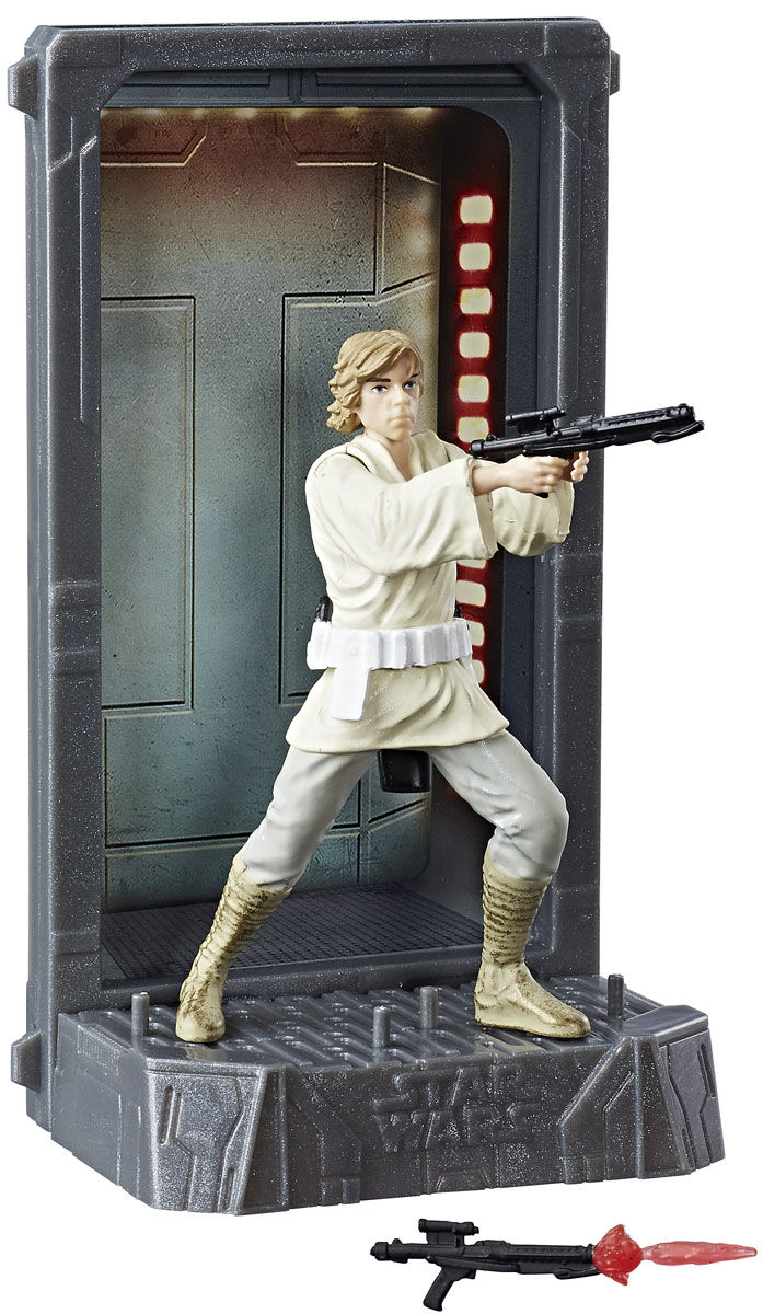 Star Wars Фигурка Black Series Luke Skywalker star wars series mini diamond diy building blocks children educational toy