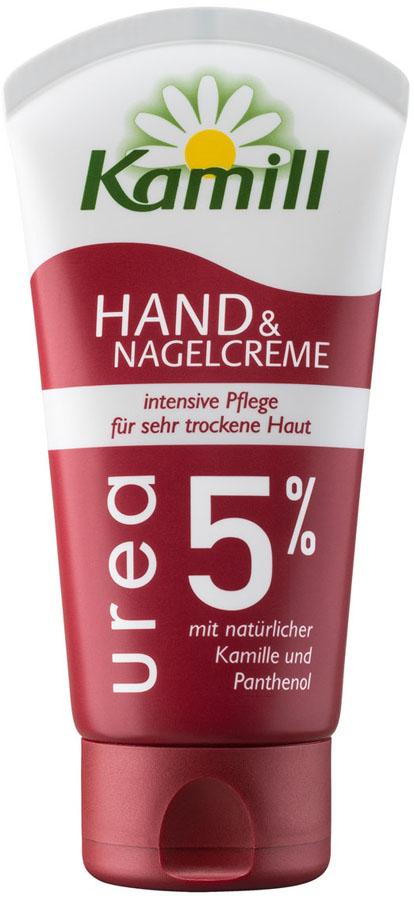 Kamill Крем для рук и ногтей Urea 5%, 75 мл6018001720Интенсивный уход для очень сухой кожи с экстрактом ромашки и бисабололом и пантенолом. Успокаивает и питает очень сухую и потрескавшуюся кожу рук, уменьшает ощущение стянутости, снимает раздражение и предотвращает сухость кожи. Содержит 5% мочевины, что обеспечивает длительный эффект и глубокое проникновение в слои эпидермиса. Имеет приятную текстуру, быстро впитывается. Дерматологически протестирован.