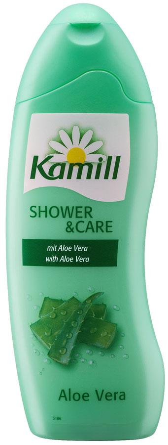 Kamill Гель для душа Алоэ Вера, 250 мл26950290Линия гелей для душа Kamill балует кожу натуральными экстрактами растений и нежными ароматами. Выберите свой любимый аромат. Все гели прекрасно пенятся, легко наносятся на кожу и хорошо смываются, оставляя ощущуение свежести и чистоты. Гели для душа Kamill отличаются превосходным качеством и широчайшей линейкой совремееных ароматов. Немецкое качество по доступной цене. Прекрасно ухаживают за кожей тела, содержат вещества для увлажнения кожи. Гель содержит экстракт алоэ вера, который обладает широким спектром действия: снимает раздражение и устраняет воспаление, увлажняет и смягчает, повышает тонус и упругость кожи. Благодаря своей нежной, легкой текстуре, гель приносит комфорт и успокаивает наиболее чувствительные зоны.