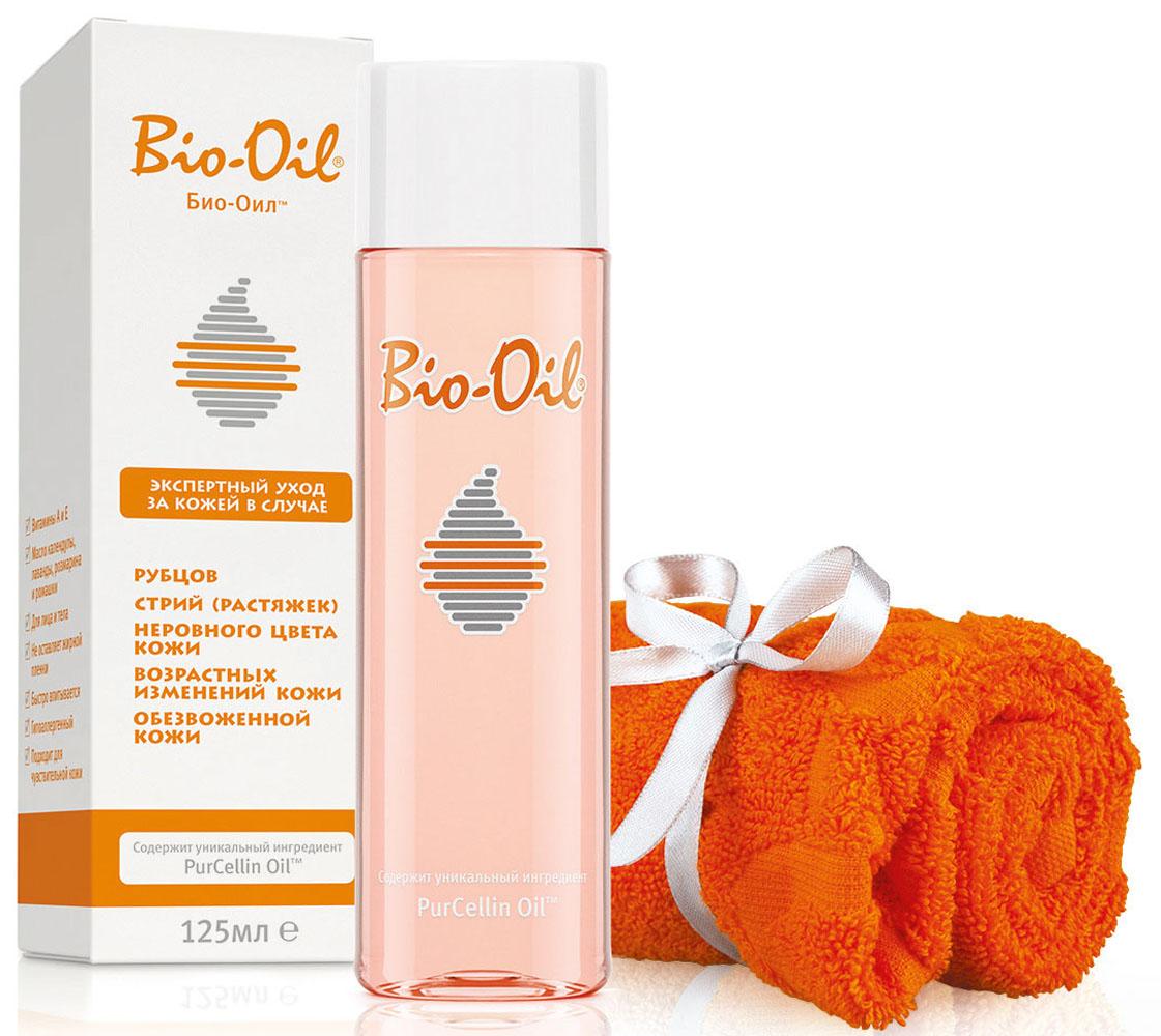 Bio-Oil Промо-спайка полотенце + Масло Bio-Oil, 125 мл масло kativa morocco argan oil nuspa масло