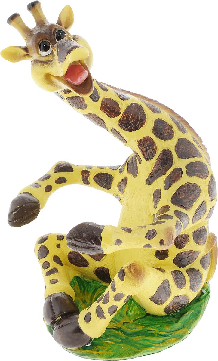 Подставка для вина Drivemotion Жираф, 22 х 15 х 16 смwine_giraffПодставка для вина Drivemotion Жираф, изготовленная из высококачественного полистоуна, порадует вас и ваших гостей своим великолепным дизайном и яркими красками. Бутылка вставляется в теплые объятия веселого жирафа.Поместите винную бутылку в эту красивую подставку, и гости не только надолго запомнят ваше мероприятие, но и будут рассказывать о нем другим. Эта замечательная подставка может стать великолепным штрихом к вашему празднику.
