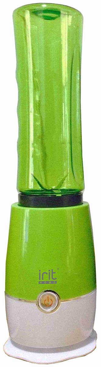 Irit IR-5512, Green блендерIR-5512Компактный и простой в эксплуатации блендер Irit IR-5512 для людей, ведущих активный образ жизни, спортсменов и молодых мам. Надежные металлические ножи обеспечат быстрое измельчение продуктов до нужной вам консистенции. При помощи данной модели можно приготовить ваши любимые коктейли, сорбеты или смузи. Разборная конструкция позволят легко очистить устройство.