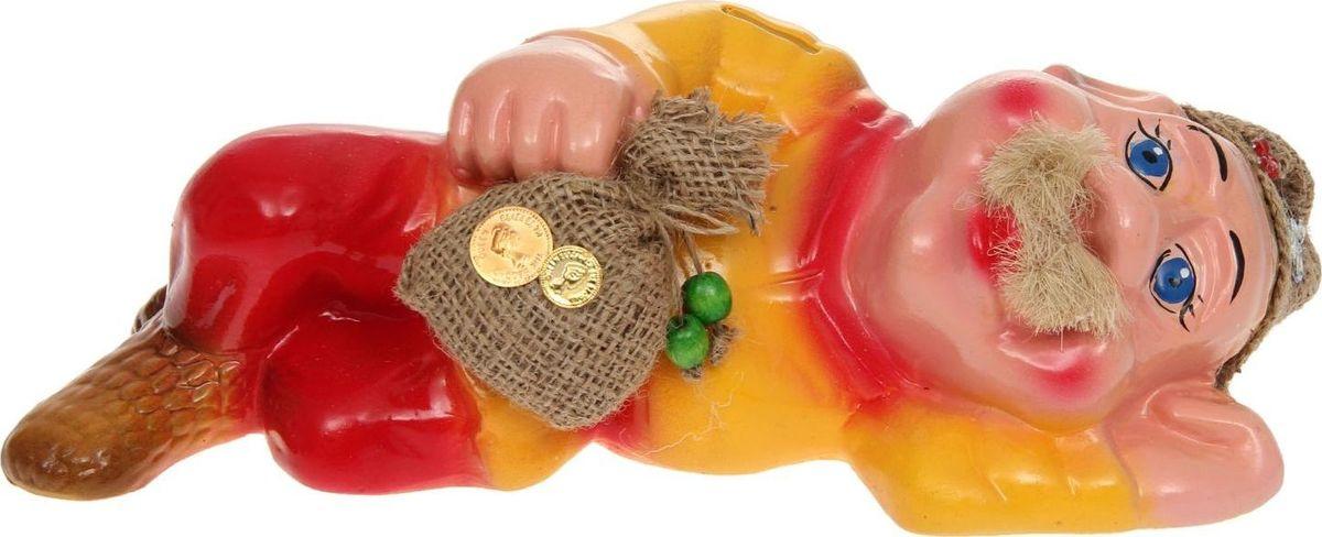 Копилка Керамика ручной работы Фермер, 12 х 32 х 12 см1131535Копилка Фермер — отличный подарок на профессиональный праздник или день рождения. Забавный небольшой сувенир вызовет искреннюю улыбку у ваших коллег, друзей и родных.Обращаем ваше внимание, что копилка является одноразовой.