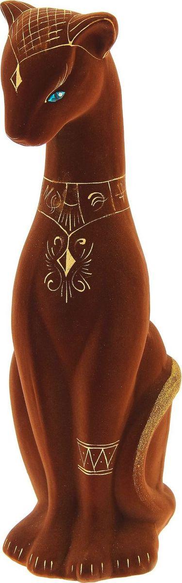 Копилка Керамика ручной работы Фараон, 14 х 17 х 45 см1148364Женщины любят баловать себя покупками для красоты и здоровья. С помощью такой копилки можно незаметно приблизиться к приобретению желаемого. Образ кошки всегда олицетворял привлекательность и символизировал домашнее спокойствие. Поставьте изделие возле предметов роскоши, и оно будет способствовать их преумножению.Обращаем ваше внимание, что копилка является одноразовой.