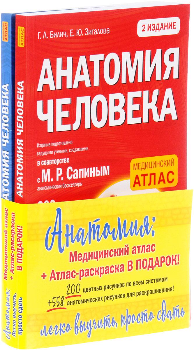Анатомия. Легко выучить, просто сдать (комплект из 2 книг)
