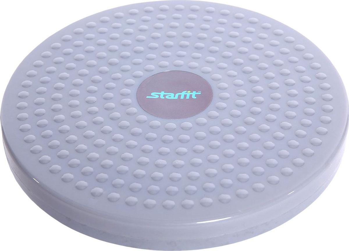 Диск здоровья Starfit FA-204УТ-00008885Диск здоровья FA-204, массажный - это тренажер для талии - один из самых простых и доступных тренажеров, на нем можно заниматься людям всех возрастов и комплекции. Нагрузка на нем определяется самостоятельно. Эффективно его использовать перед занятиями с обручем, диск разогревает мышцы. Можно использовать его и как самостоятельный тренажер. Характеристики:Материал: пластикЦвет: серыйДиаметр, см: 24Высота диска, см: 3Максимальный вес пользователя, кг: 100Производство: КНР