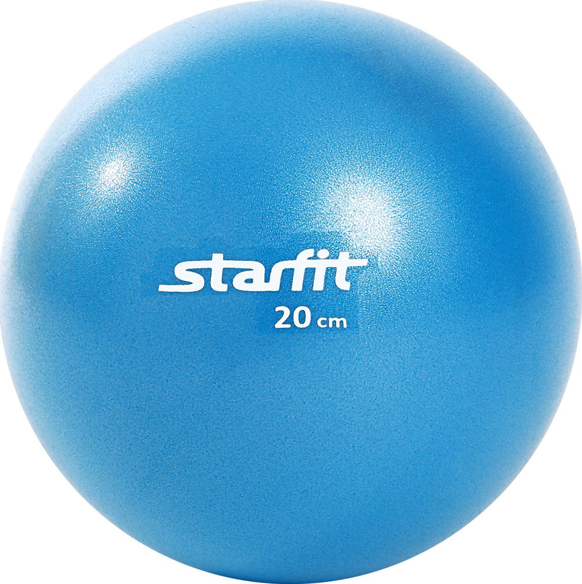 Мяч для пилатеса Starfit GB-901, цвет: синий, диаметр 20 смУТ-00009007Гимнастический мяч Star Fit является универсальным тренажером для всех групп мышц, помогает развить гибкость, исправить осанку, снимает чувство усталости в спине. Предназначен для гимнастических и медицинских целей в лечебных упражнениях. Прекрасно подходит для использования в домашних условиях.Данный мяч можно использовать для реабилитации после травм и операций, восстановления после перенесенного инсульта, стимуляции и релаксации мышечных тканей, улучшения кровообращения, лечении и профилактики сколиоза, при заболеваниях или повреждениях опорно-двигательного аппарата.Йога: все, что нужно начинающим и опытным практикам. Статья OZON Гид