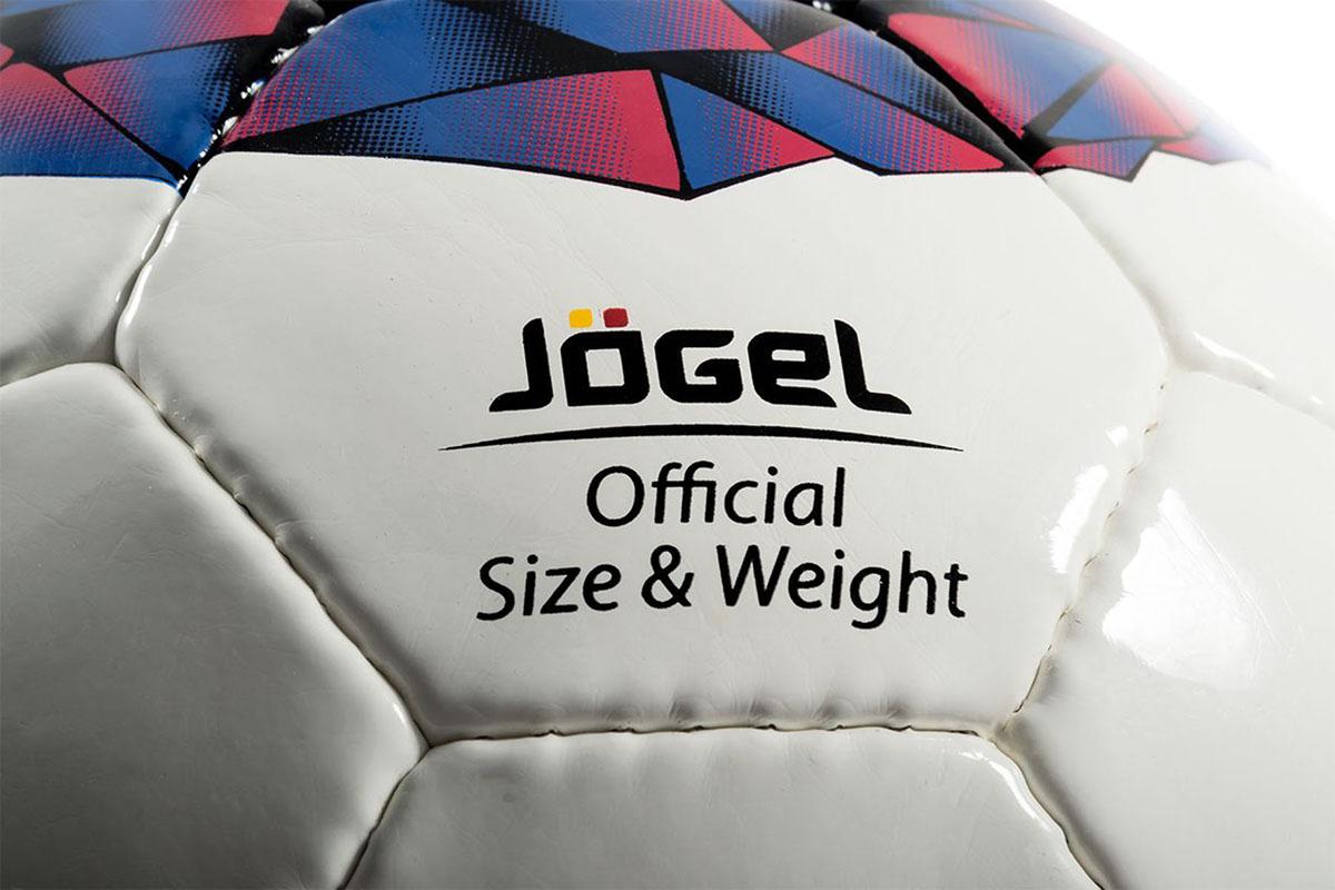 """Футбольный мяч """"Jogel"""" JS-700 Nitro превосходно подходит для тренировочного уровня. Он имеет прочную покрышку из синтетической кожи,  сшитой вручную. Мяч имеет отличные технические характеристики, соответствующие требованиям тренировочного процесса.  Предусмотрено 4 подкладочных слоя из смеси хлопка с полиэстером и латексная камера, которая хорошо держит давление.  Мяч """"Jogel"""" JS-700 Nitro станет отличным выбором для тренировок и проведения любительских матчей. Вес: 410-450 гр. Длина окружности: 68-70 см. Рекомендованное давление: 0.6-0.8 бар. УВАЖАЕМЫЕ КЛИЕНТЫ! Обращаем ваше внимание на тот факт, что мяч поставляется в сдутом виде. Насос в комплект не входит."""