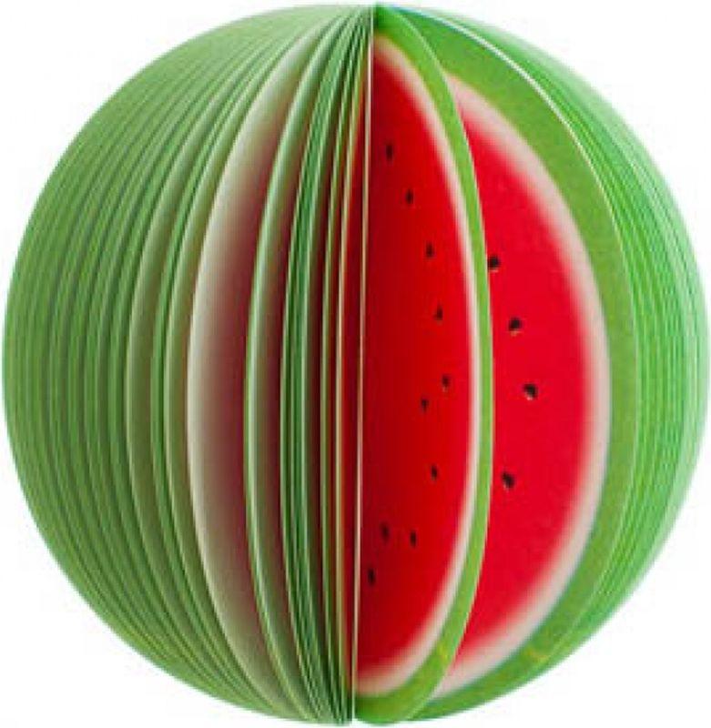 Карамба Блокнот Фрукты Арбуз цвет красный 50 листов000121