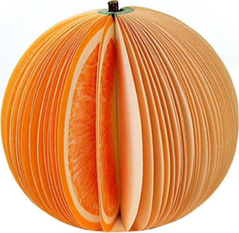 Карамба Блокнот Фрукты Апельсин цвет оранжевый 50 листов000125