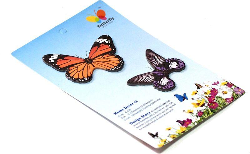 Карамба Набор стикеров 2 бабочки 2 30 шт002137Набор стикеров выполнен в виде 2 видов бабочек, каждая из которых состоит из 10-20 листочков.