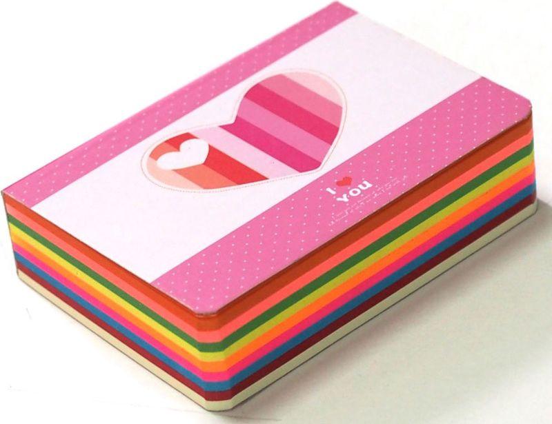 Карамба Блокнот Сердце цвет розовый 250 листов003248