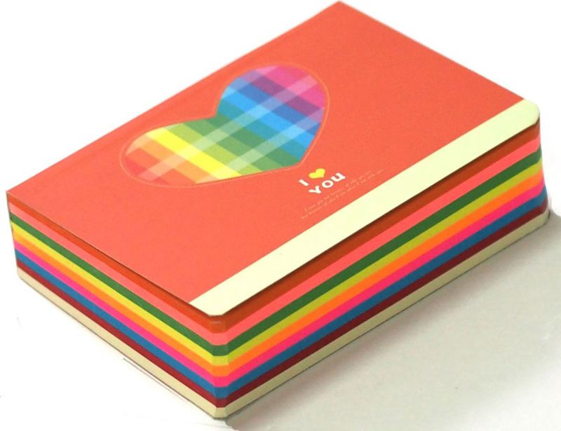 Карамба Блокнот Сердце цвет оранжевый 250 листов003251