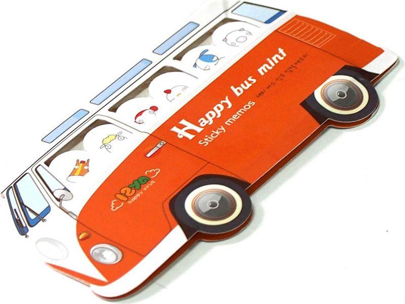 Карамба Набор стикеров Автобус цвет оранжевый 180 шт набор декоративных листочков scrapberry s цвет белый 20 шт