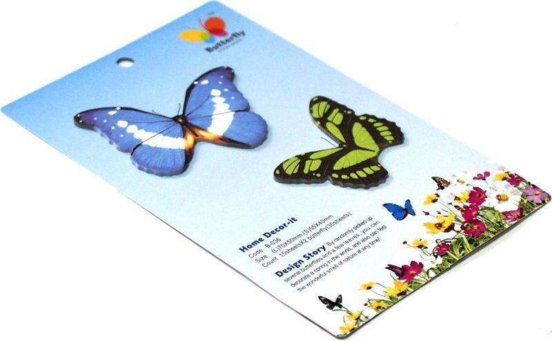 Карамба Набор стикеров 2 бабочки 3 30 шт набор для специй карамба утки 2 предмета