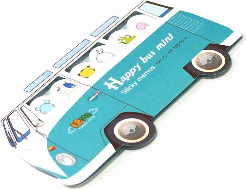 Карамба Набор стикеров Автобус цвет голубой 180 шт004054Набор стикеров выполнен в виде автобуса с шестью пассажирами, каждый из которых состоит из 30 листочков.