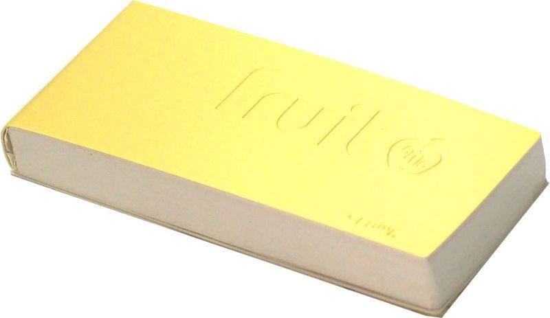 Карамба Блокнот Fruit цвет желтый 144 листа004093