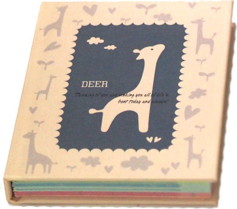 Карамба Блокнот Жираф цвет синий 60 листов в линейку004152
