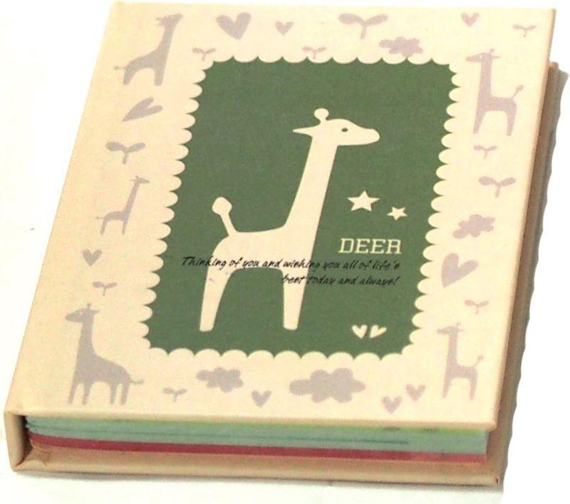 Карамба Блокнот Жираф цвет зеленый 60 листов в линейку004154Блокнот Карамба Жираф - незаменимый атрибут современного человека, необходимый для рабочих и повседневных записей в офисе и дома.Блокнот содержит 60 листов в линейку.Блокнот станет достойным аксессуаром среди ваших канцелярских принадлежностей. Такой блокнот пригодится как для деловых людей, так и для любителей записывать свои мысли, писать мемуары или делать наброски новых стихотворений.
