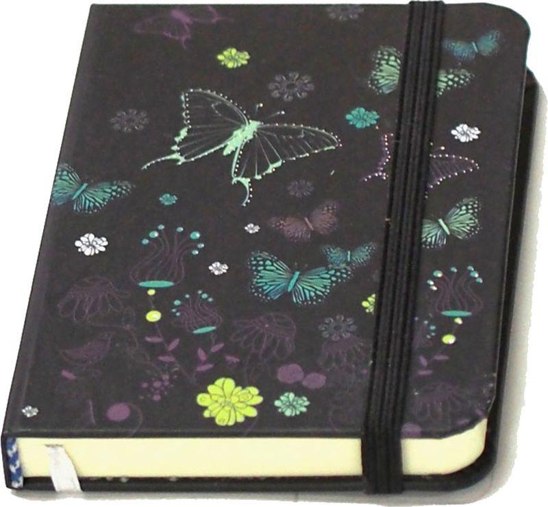 Карамба Блокнот Бабочки цвет черный 80 листов004237