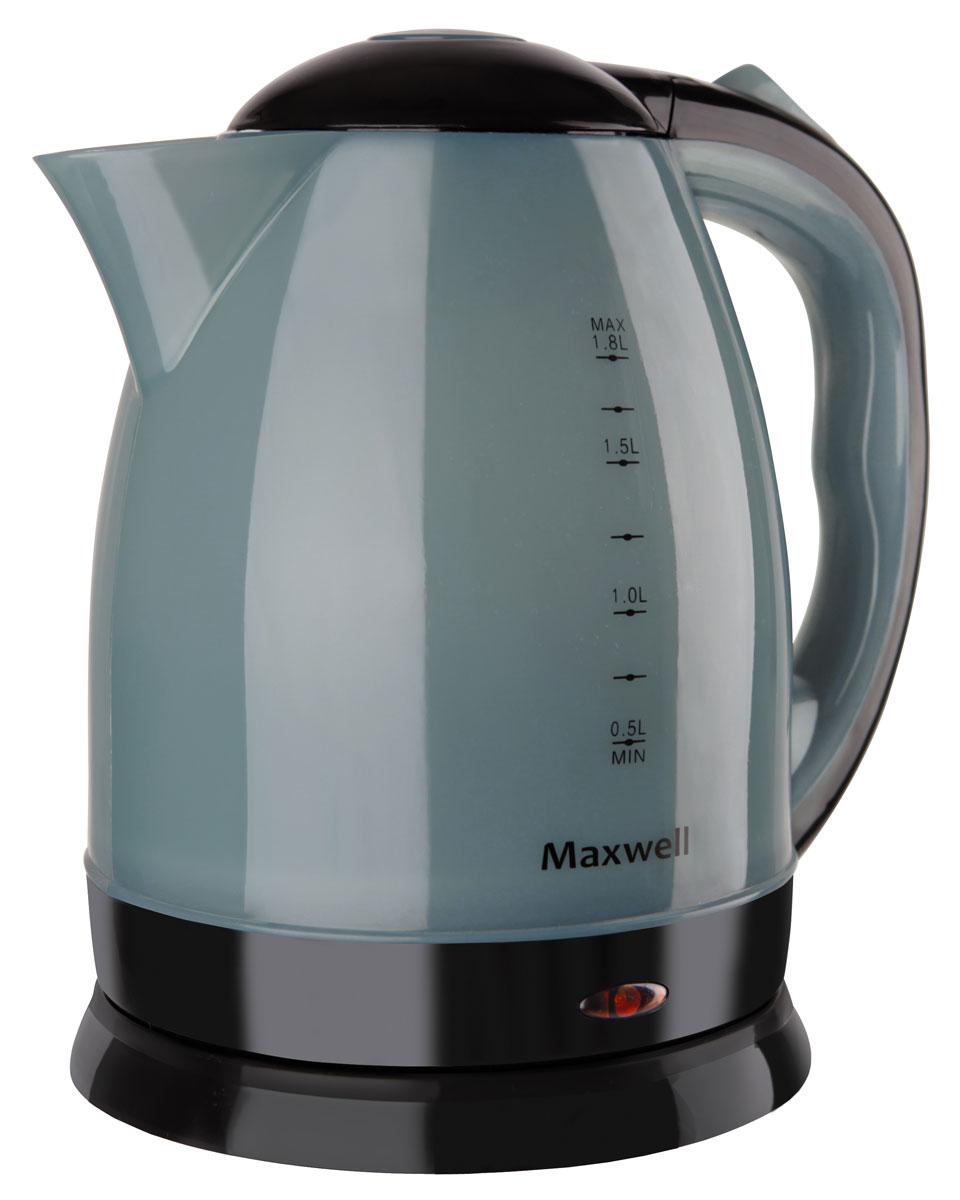Maxwell MW-1063(B) чайник электрическийMW-1063(B)Электрический чайник Maxwell MW-1063(B) позволит легко и быстро вскипятить воду для любимых горячих напитков.Компактная модель совмещает в себе все важные функции, которые позволят комфортно пользоваться чайником. Устройство автоматически отключается, когда вода в нем закипает. При помощи специальной шкалы на корпусе устройства вы всегда будете знать, хватит ли воды для чая. Удобство использования чайника дополняется стильным дизайном. Именно поэтому данная модель прекрасно смотрится в любом кухонном интерьере.