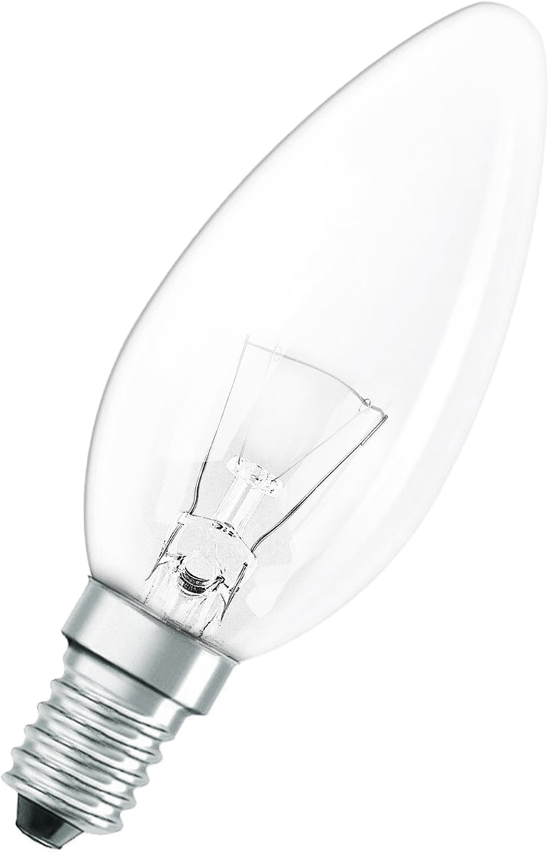 Лампа накаливания Osram Classic B CL 60W E14 4008321665942 лампа накаливания philips p45 60w e14 cl