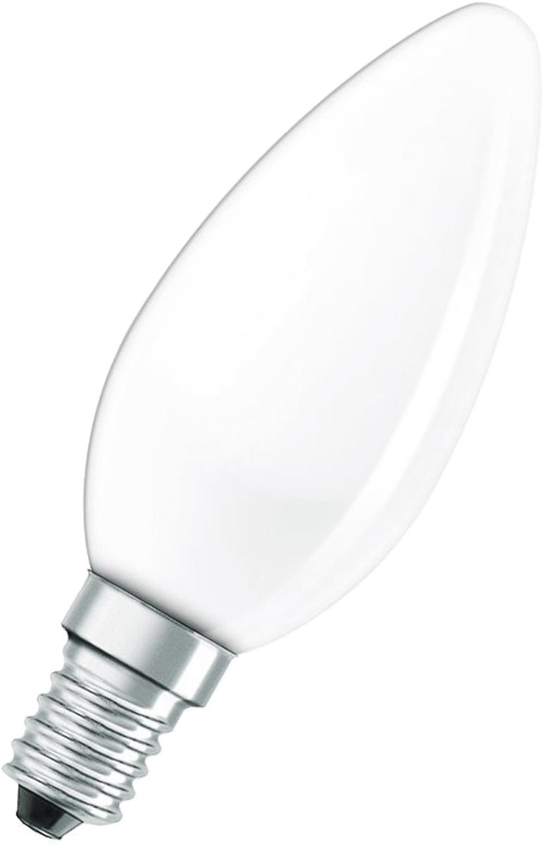 Лампа накаливания Osram Classic B FR 40W E14 40083214108704008321410870Конструкция лампы состоит из стеклянной колбы, заполненной инертным газом. Основу устройства составляет тело накала или вольфрамовая спираль, которая под воздействием электрического тока начинает излучать свечение.Лампы накаливания используются для всеобщего, местного и наружного освещения в быту и промышленности в сетях переменного тока напряжением 220 В частотой 50 Гц