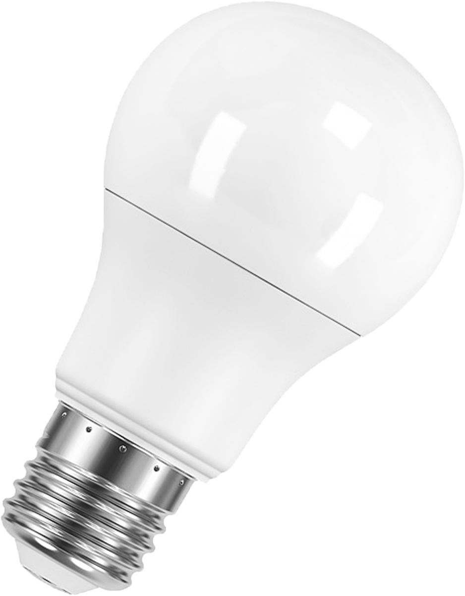 Лампа светодиодная Osram Classic A 40 6W/827 220-240V E27 40528992135624052899213562Светодиодные энергосберегающие лампы потребляют на 70% меньше электроэнергии, что не только экономит деньги, но и снижает нагрузку на проводку. Свет, который излучают светодиодные светильники, не раздражает глаза и может быть разным по интенсивности и световой температуре. Они легко монтируются в стены и потолки, в том числе и в натяжные. Разнообразный дизайн позволяет подобрать светодиодные лампы для любого пространства.