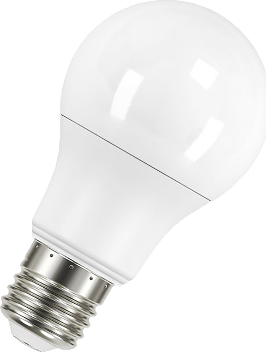 Лампа светодиодная Osram LED Classic A 100 10.5W/827 220V FR E27. 40528999715784052899971578Osram LED Classic A - светодиодные лампы классической грушевидной формы. В качестве источника света используют светодиоды (англ. Light-Emitting Diode, сокр. LED), применяются для бытового, промышленного и уличного освещения. Светодиодная лампа является одним из самых экологически чистых источников света. Принцип свечения светодиодов позволяет применять в производстве и работе самой лампы безопасные компоненты.Светодиодные лампы не используют веществ, содержащих ртуть, поэтому они не представляют опасности в случае выхода из строя или повреждения колбы.