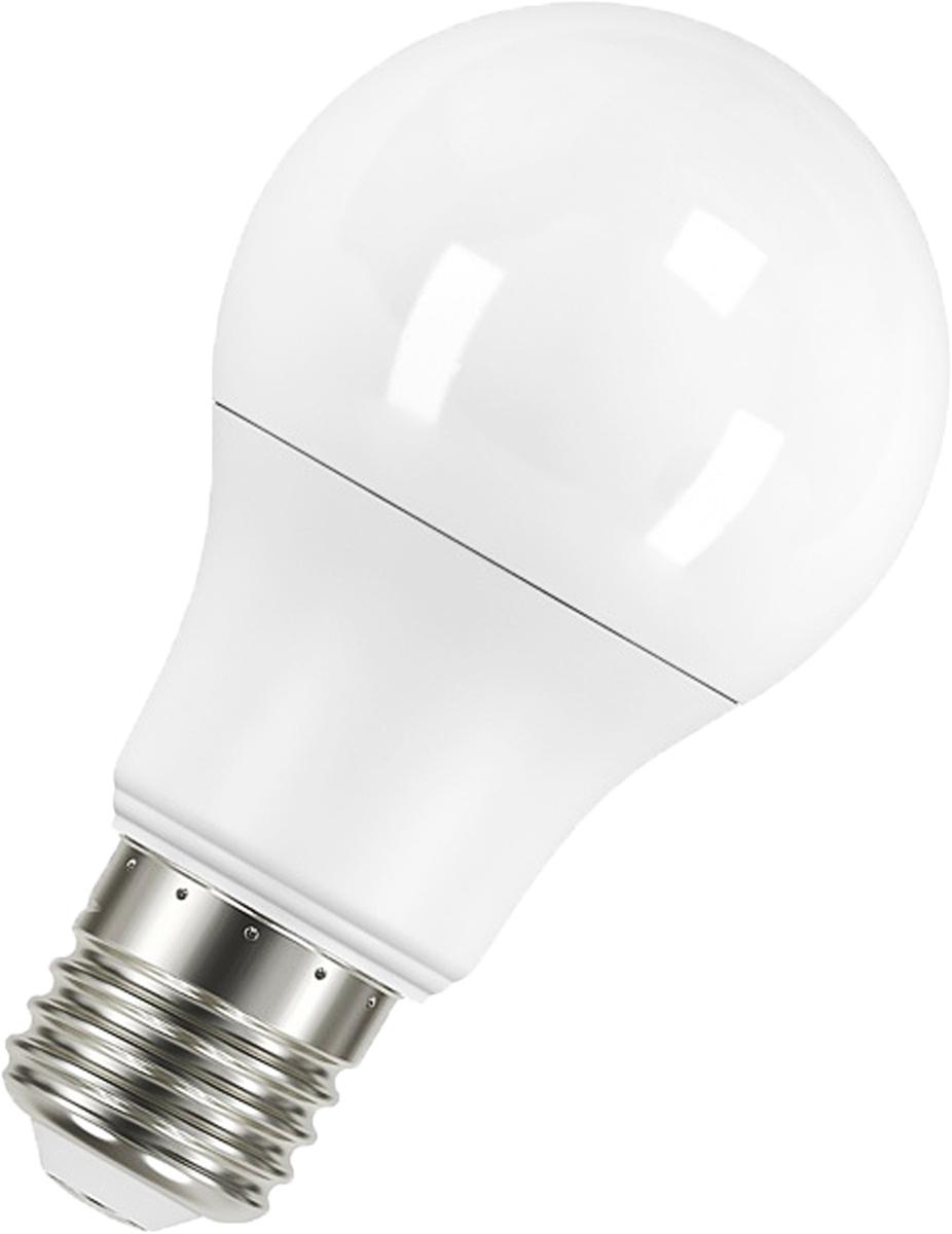 Лампа светодиодная Osram LED Star Classic A 60 6.8W/827 230V FR E27 40528999715304052899971530LED STAR CLASSIC A - светодиодные лампы классической грушевидной формы. В качестве источника света используют светодиоды (англ. Light-Emitting Diode, сокр. LED), применяются для бытового, промышленного и уличного освещения. Светодиодная лампа является одним из самых экологически чистых источников света. Принцип свечения светодиодов позволяет применять в производстве и работе самой лампы безопасные компоненты. Светодиодные лампы не используют веществ, содержащих ртуть, поэтому они не представляют опасности в случае выхода из строя или повреждения колбы.