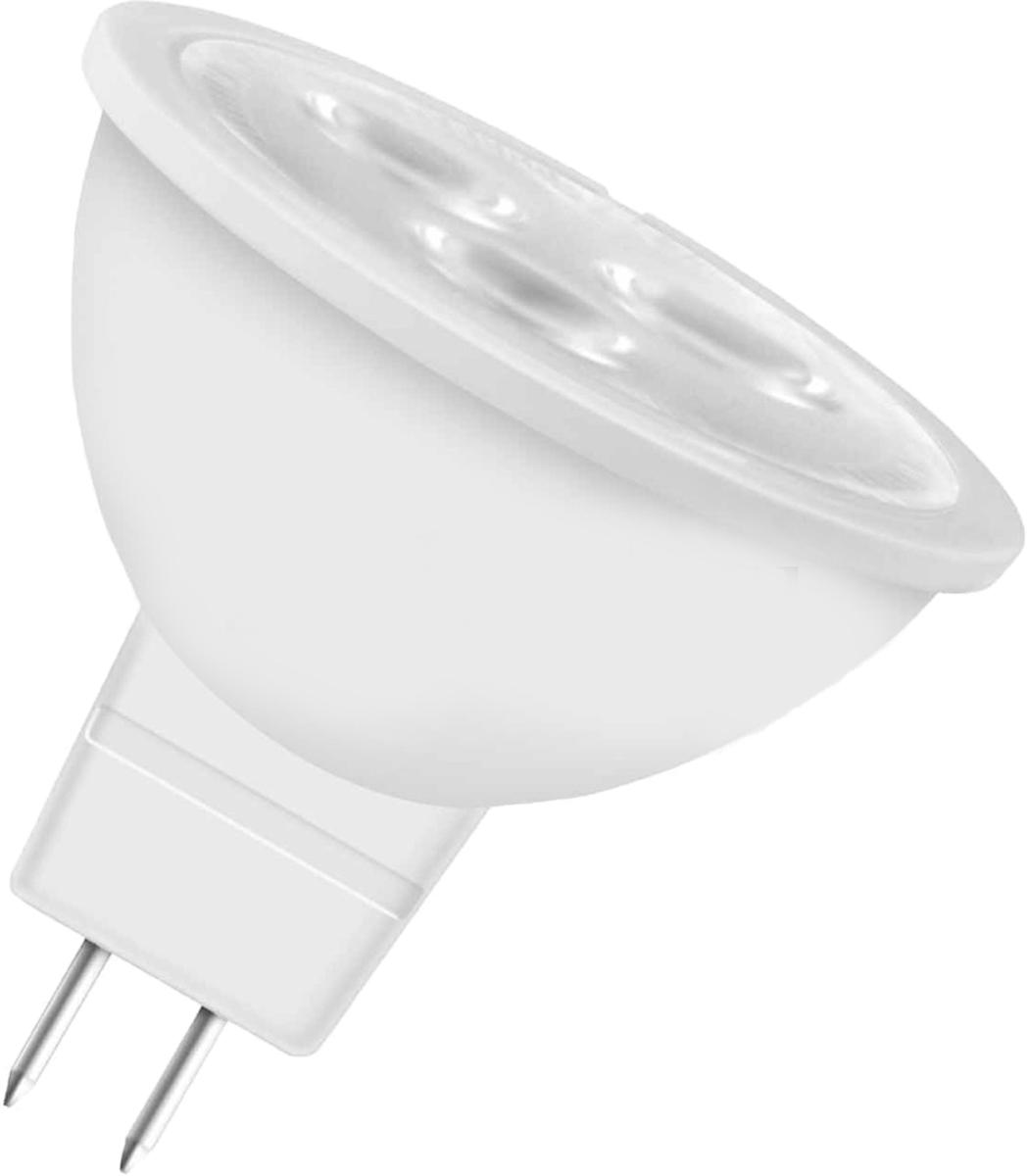 Лампа светодиодная Osram MR16 35 5.3W/827 220-240V GU5.3 40528992375444052899237544Светодиодные энергосберегающие лампы потребляют на 70% меньше электроэнергии, что не только экономит деньги, но и снижает нагрузку на проводку. Свет, который излучают светодиодные светильники, не раздражает глаза и может быть разным по интенсивности и световой температуре. Они легко монтируются в стены и потолки, в том числе и в натяжные. Разнообразный дизайн позволяет подобрать светодиодные лампы для любого пространства.