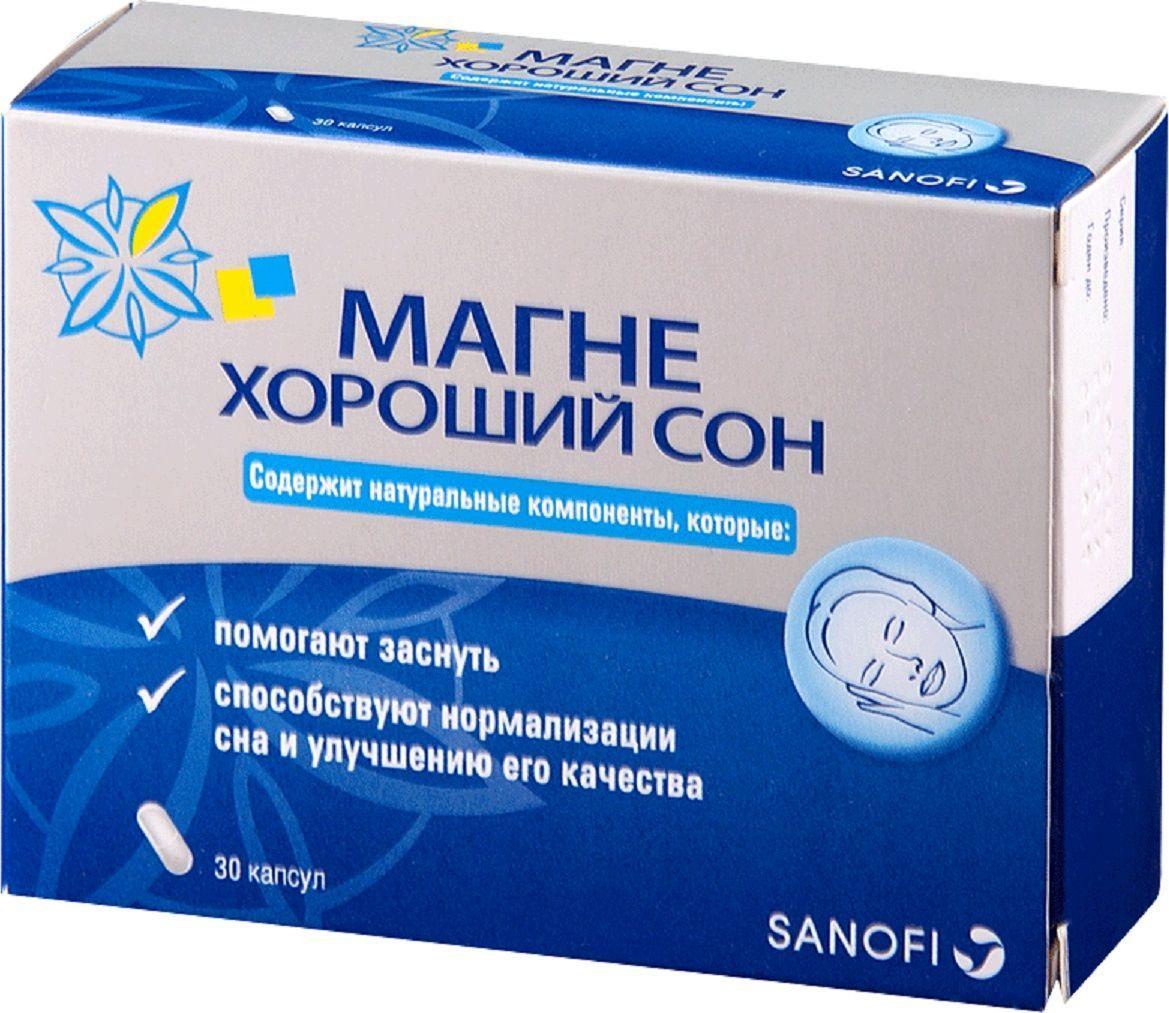 Магне Хороший сон капсулы 360 мг №30 - Аптека