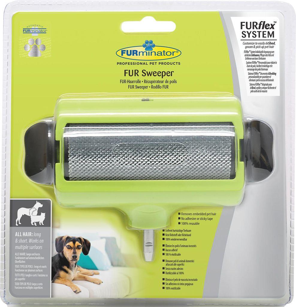 Насадка для уборки шерсти для системы FURminator FURflex. 137252137252Насадка для уборки шерсти для системы FURminator предназначена для использования вместе с ручкой FURflex. Насадка захватывает и собирает выпавшую шерсть с мебели, лежанок животных, сиденья автомобиля и других поверхностей. Насадка является многоразовой и легко очищается. Собранная шерсть накапливается в специальной камере.Линька под контролем! Статья OZON Гид