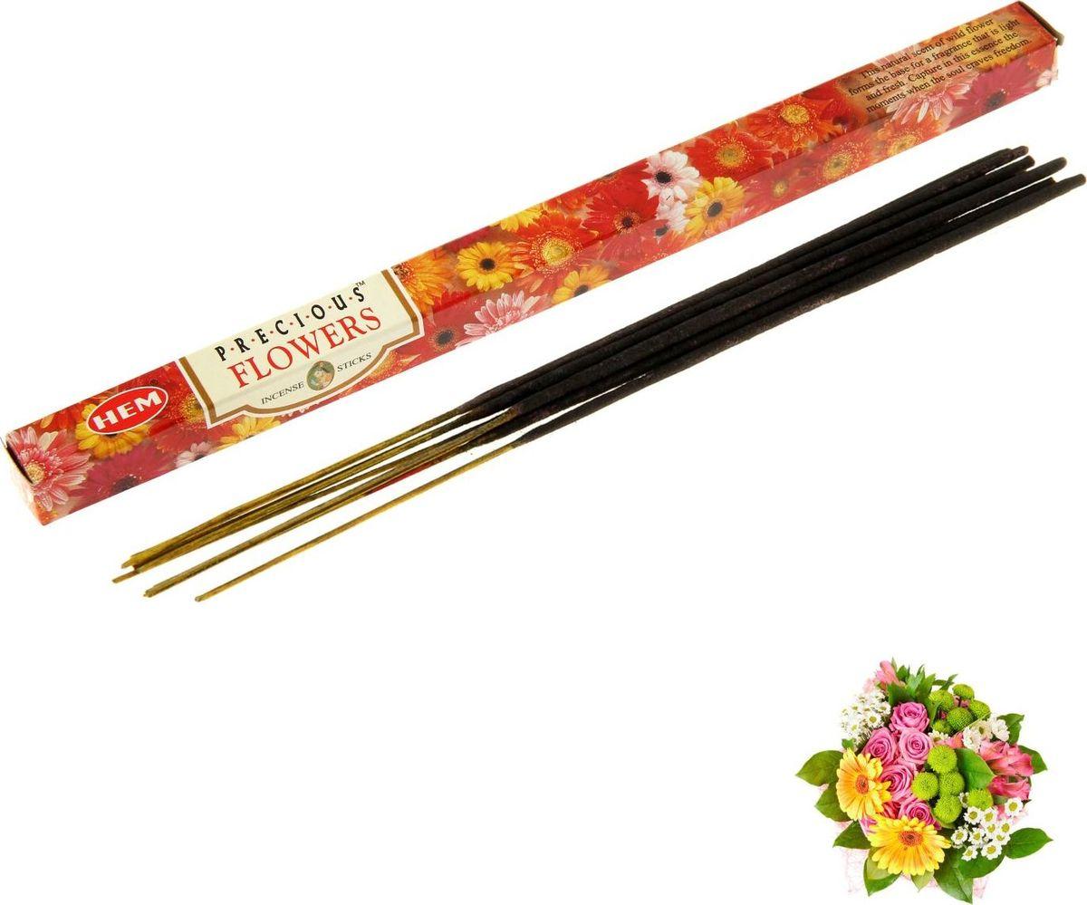 """Благовония HEM """"Precious Flower"""" (Драгоценный цветок), 8 палочек"""