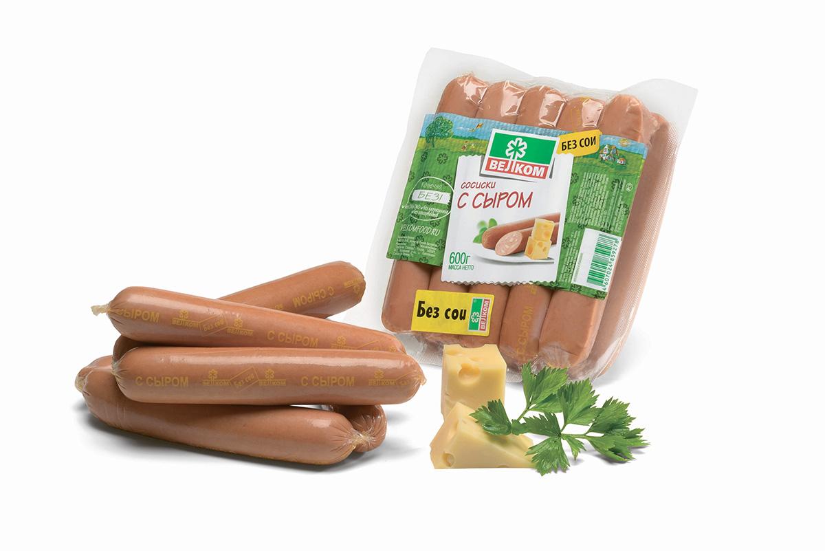 Велком Сливочные сосиски, 600 г70449Сливочные сосиски имеют незабываемый нежный вкус настоящих сливок. Высокие стандарты контроля качества – это гарантия качества продукции Велком. Отвечает всем стандартам качества мясной продукции. Подходит для повседневного потребления.