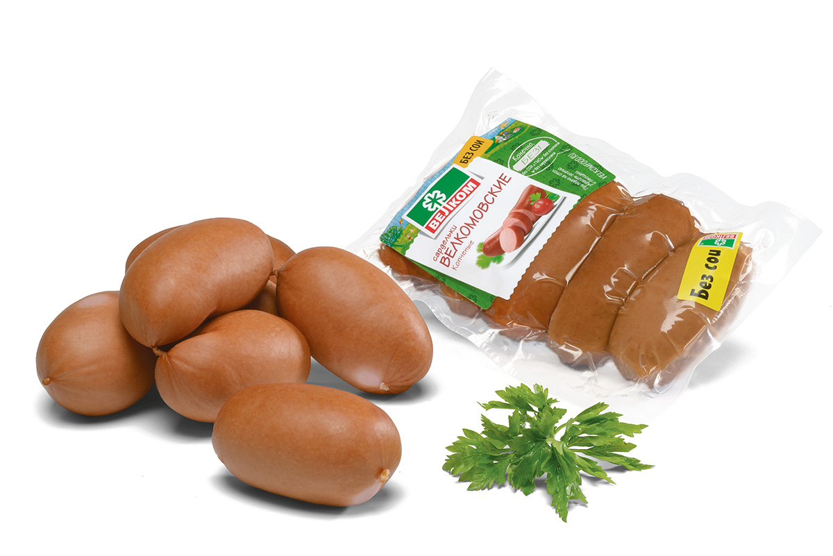 Велком Сардельки в натуральной оболочке, 450 г70901Сардельки Велкомовские производятся по собственной рецептуре, разработанной технологами нашего мясокомбината. При их изготовлении используется только охлажденное сырье, а специальным образом подобранные специи завершают образ идеальных сарделек.